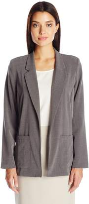 Briggs New York Women's Bistretch Long Sleeve Jacket