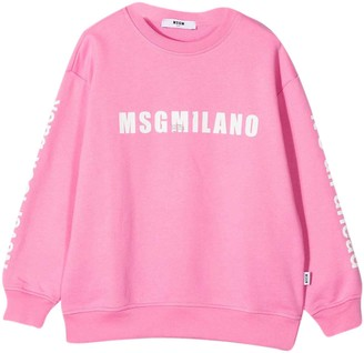 MSGM Pink Sweatshirt