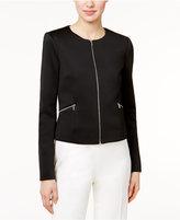 Calvin Klein Scuba Zip-Front Jacket