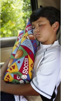 Cruisin and Snoozin Travel Pillow All Sport Travel Cotton Bolster Pillow