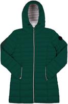 Point Zero Forest Hooded Longline Puffer Jacket