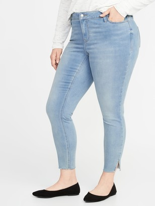 Old Navy High-Waisted Built-In Warm Rockstar Super Skinny Plus-Size Jeans