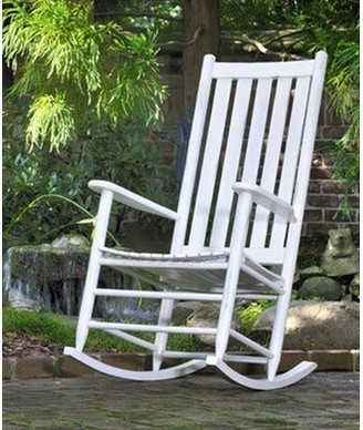 Gracie Oaks Thor Rocking Chair Gracie Oaks Color: Antique White