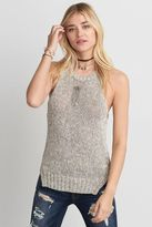 American Eagle Outfitters AE Side Slit Muscle Tank