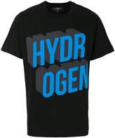 Hydrogen short sleeved logoed T-shirt