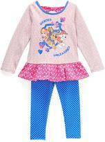 Children's Apparel Network PAW Patrol Pink Tunic & Blue Leggings - Toddler & Girls