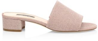 Sarah Jessica Parker Fuse Block-Heel Mules