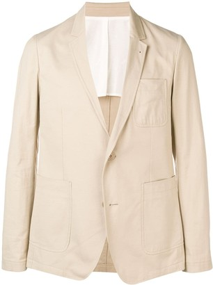 Ami Unlined Two Buttons Jacket