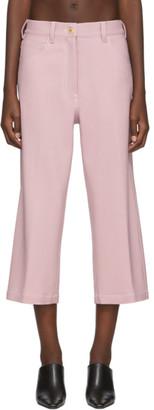 Sies Marjan Pink Wool Issa Trousers