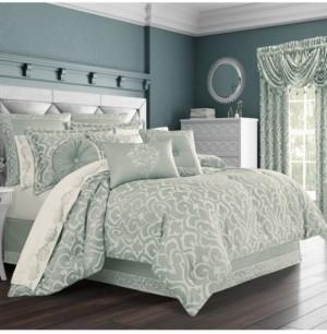J Queen New York J Queen Lombardi Spa King Comforter Set Bedding