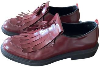 Bruno Bordese Burgundy Leather Lace ups
