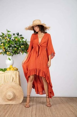 SUNDRESS Juliana Dress - XS/S / Precieuse orange