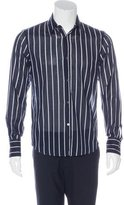 CNC Costume National Striped Woven Shirt