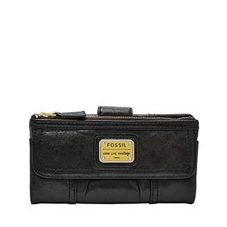 Fossil Women's Emory Leather Clutch Wallet