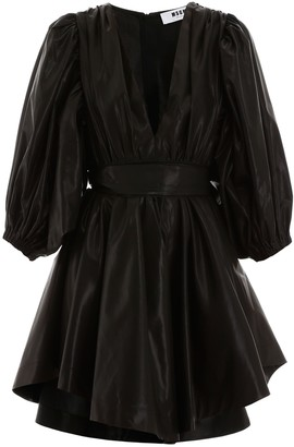 MSGM Taffeta Mini Dress
