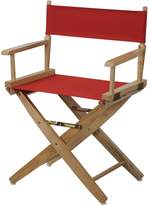 "American Trails Extra-Wide Premium 18"" Director's Chair Natural Frame with Canvas"