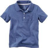 Carter's Short-Sleeve Striped Polo - Preschool Boys 4-7