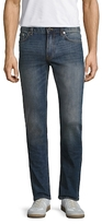 BLK DNM Fading Cotton Straight Jeans