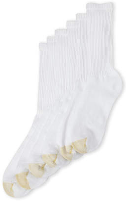 Gold Toe 6-Pack Cotton Crew Socks