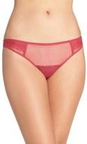 OnGossamer Women's Pleat Front Thong