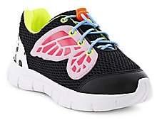 Sophia Webster Baby's, Little Girl's & Girl's Chiara Mesh Leather Butterfly Sneakers