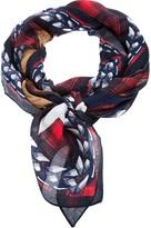 Givenchy dobermann print scarf