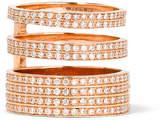 Repossi Berbère Module 18-karat Rose Gold Diamond Ring - 50