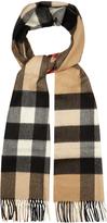 Burberry Mega-checked cashmere scarf