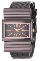 Salvatore Ferragamo Women's F69MBQ6543 S065 Renaissance Brown Ion-Plated Stainless Steel Mother-Of-Pearl Watch
