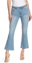 Frame Le Crop Braided Waist Mini Bootcut Jeans