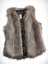 GUESS Big Girl Faux-Fur Vest (7-16)