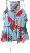 Emilio Pucci feather print top