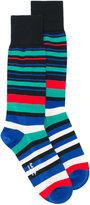 Paul Smith striped socks - men - Cotton/Nylon/Spandex/Elastane - One Size