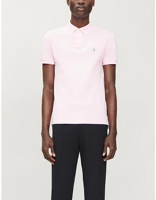 Polo Ralph Lauren Logo-print cotton-pique polo shirt