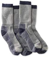 L.L. Bean Men's Cresta Hiking Socks, Lightweight, Two-Pack