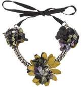 Miu Miu Floral Collar Necklace