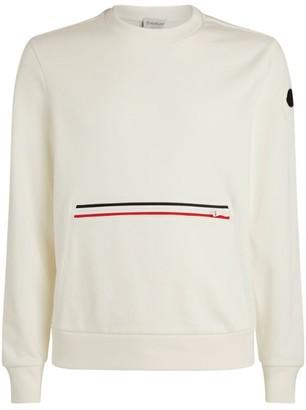 Moncler Stripe-Detail Sweatshirt