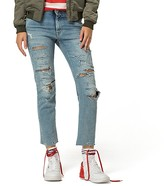 Tommy Hilfiger Destroyed Straight Fit Jean