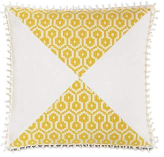 Arabella Eastern Accents Geometric Square Cotton Throw Pillow Eastern Accents