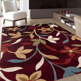 Asstd National Brand Alpine Floral Vines Rectangular Rug