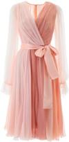 Dolce & Gabbana Chiffon Shaded Dress