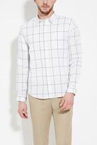 Forever 21 FOREVER 21+ Grid-Patterned Shirt