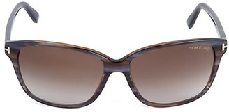 Tom Ford 59MM Rectangle Sunglasses