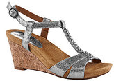 Michelle D Pearl Wedge Sandals