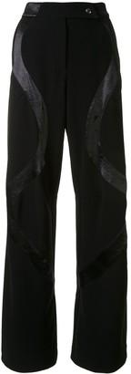 KIKO KOSTADINOV Polished Panel Trousers