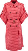Missoni Crochet-knit belted coat
