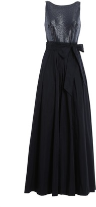 Lauren Ralph Lauren Tie Waist Maxi Dress