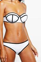 Boohoo Barcelona Mix And Match Contrast Brief
