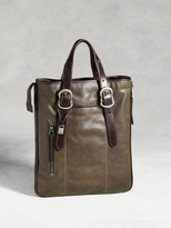 John Varvatos Bleeker Zip Shopper Bag
