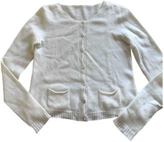 Non Signé / Unsigned Non Signe / Unsigned White Cashmere Knitwear for Women